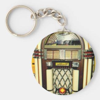 Juke-box Image key-chain Keychain