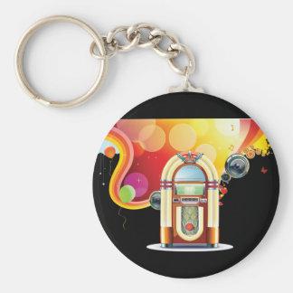 Juke Box Keychain