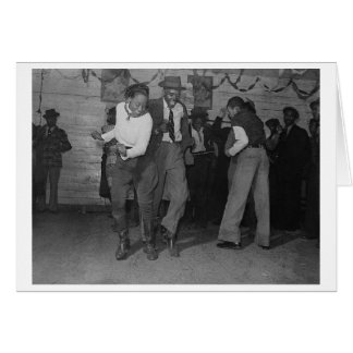 Juke Joint Jitterbug Card
