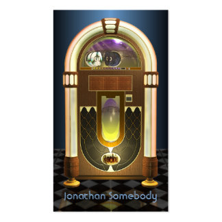 Jukebox Profile Card Pack Of Standard Business Cards