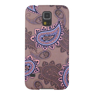 jul15brownpaisley.JPG Case For Galaxy S5