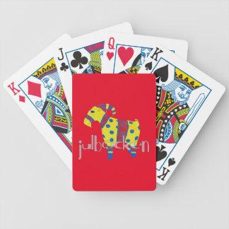 julbocken the Scandinavian Yule Goat Bicycle Playing Cards