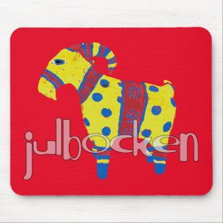julbocken the Scandinavian Yule Goat Mouse Pad