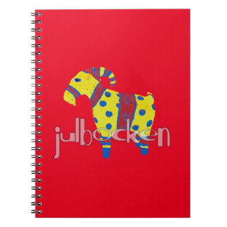 julbocken the Scandinavian Yule Goat Notebook