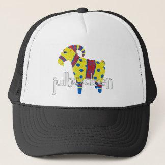 julbocken the Scandinavian Yule Goat Trucker Hat