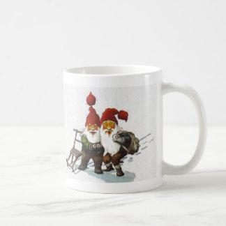 Julenisse Friends Sledding Coffee Mug