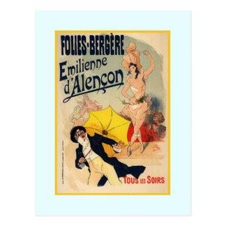Jules Chéret,advertisment,1890 Postcard