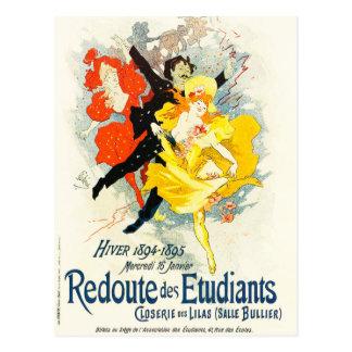 Jules Cheret Art Nouveau Postcard