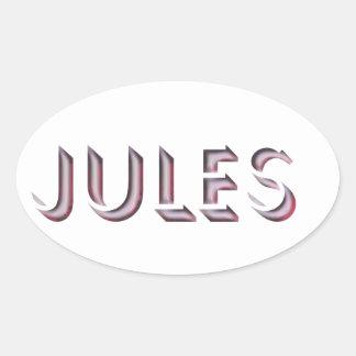 Jules sticker name