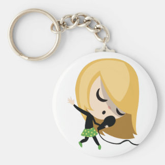 Jules the Singer Keychain