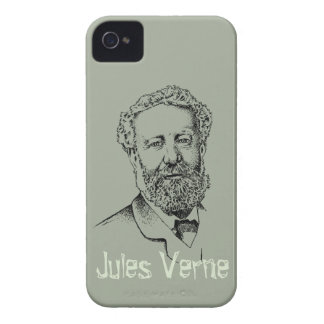 Jules Verne the steampunk writer Case-Mate iPhone 4 Cases