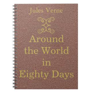 Jules Verne the steampunk writer Notebook