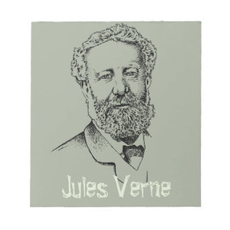 Jules Verne the steampunk writer Notepad