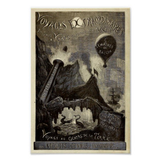 Jules Verne's Voyages Extraordinaires (1861) Poster