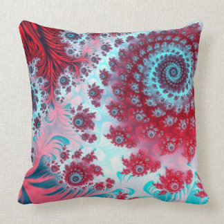 Julia Fractal 3 Throw Pillow