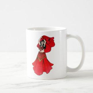 Julia Lolita Belly Dancer Art Coffee Mug