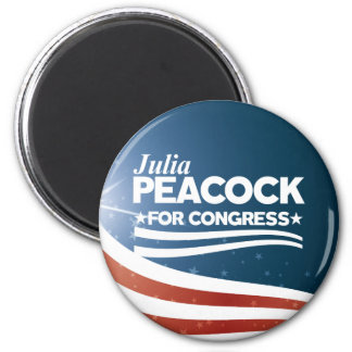 Julia Peacock Magnet