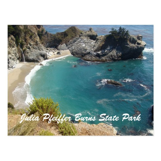 Julia Pfeiffer Burns State Park Postcard