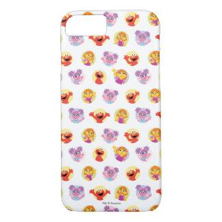 Julia & Sesame Street Friends Pattern Case-Mate iPhone Case