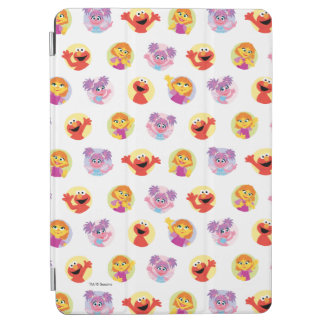 Julia & Sesame Street Friends Pattern iPad Air Cover