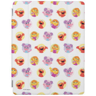 Julia & Sesame Street Friends Pattern iPad Cover