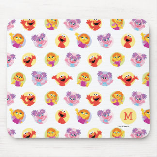 Julia & Sesame Street Friends Pattern Mouse Pad