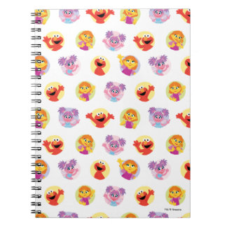 Julia & Sesame Street Friends Pattern Notebooks