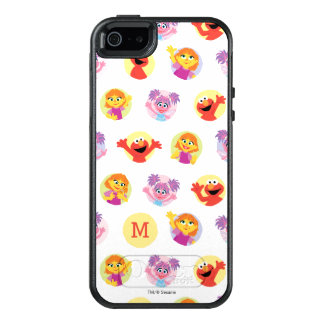 Julia & Sesame Street Friends Pattern OtterBox iPhone 5/5s/SE Case