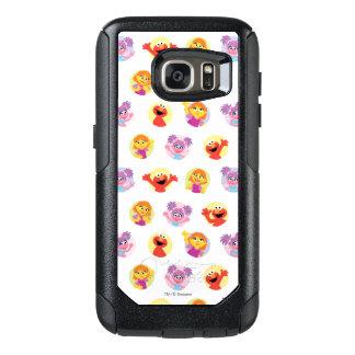 Julia & Sesame Street Friends Pattern OtterBox Samsung Galaxy S7 Case