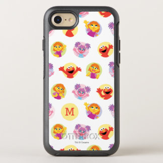 Julia & Sesame Street Friends Pattern OtterBox Symmetry iPhone 8/7 Case