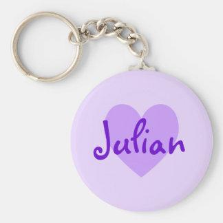 Julian in Purple Keychain