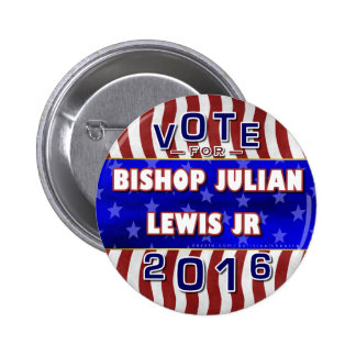Julian Lewis President 2016 Election Independent 2 Inch Round Button
