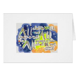 Julian of Norwich quote Card