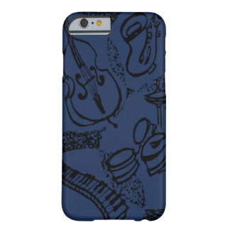 Julian's iJazz Theme Barely There iPhone 6 Case