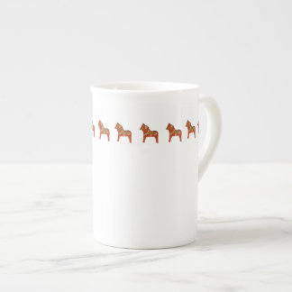 Julia's Dala Horse Bone China Cup