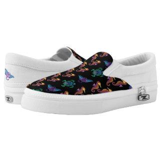 Julia's Marine Design Slip-On Sneakers