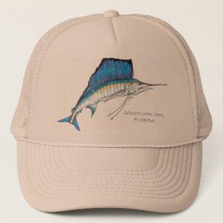 Julia's Sailfish South Walton, Florida Trucker Hat