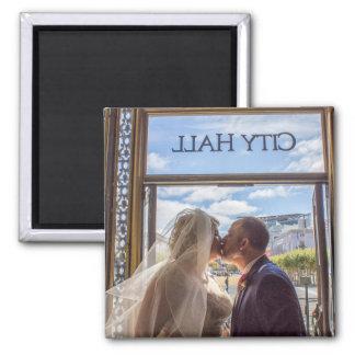 Julie + Brett's Wedding Magnet
