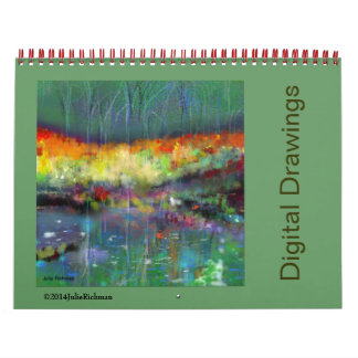 Julie Richman Digital Drawings Calendar
