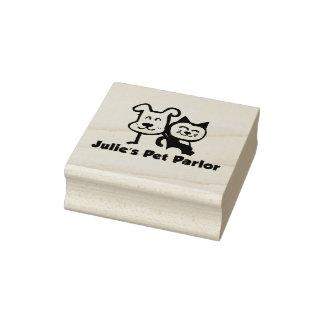 Julie's Pet Parlor Stamp