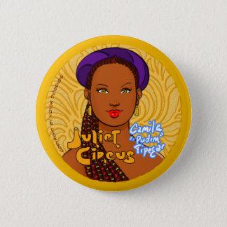 Juliet Circus - Camila Tipegar 2 Inch Round Button