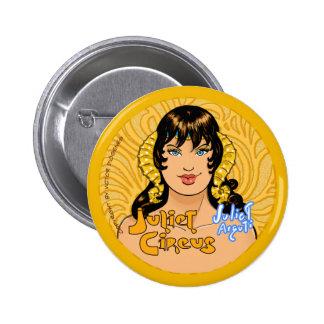 Juliet Circus - Juliet Arguti 2 Inch Round Button