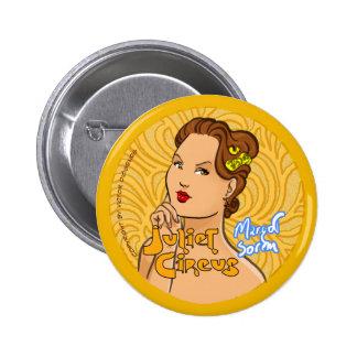 Juliet Circus - Margot Sorem 2 Inch Round Button