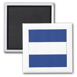Juliet (J) Signal Flag Fridge Magnet