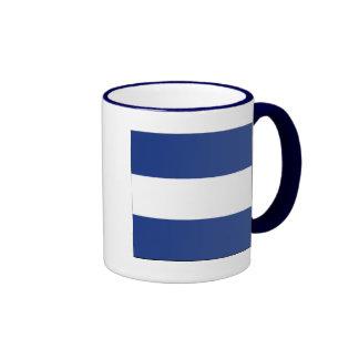 Juliet (J) Signal Flag Mugs