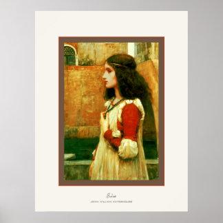 Juliet ~ John William Waterhouse Poster