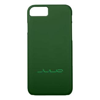 Julio Tough iPhone case in Green Design