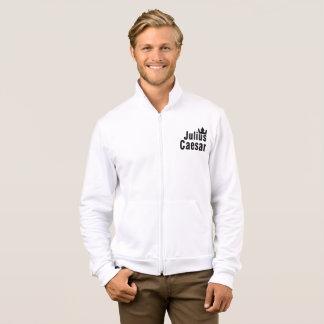 Julius Caesar Mens Fleece Zip Jogger Jacket