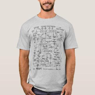 Julius Caesar Plot Diagram T-Shirt