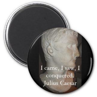 Julius Caesar QUOTATION famous quote Magnet